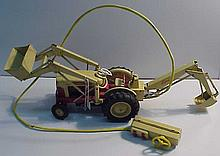 1950 Tin Litho Ford Remote Control Battery Operated Tractor