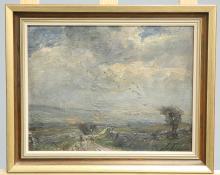 HERBERT F. ROYLE (BRITISH, 1870-1958), THRESHFIELD MOOR, signed lower right