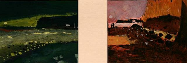 Neill Speers Towards Runkerry / Sunset (2) Oil 11