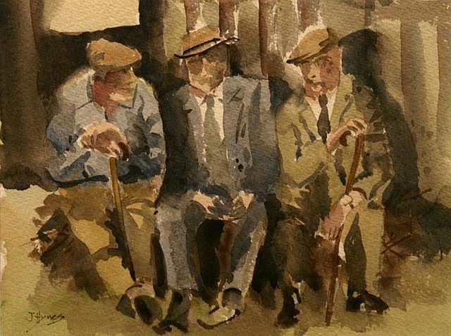 Joe Hynes Happy Days, 2010 Watercolour 20.3 x 27.9