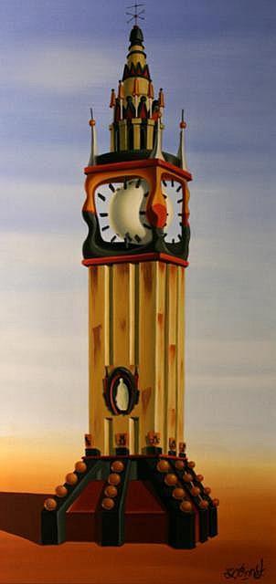 John McAtamney Impressions of Albert Clock, 2008