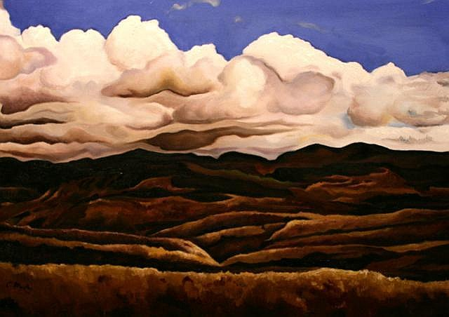 Clodagh Murphy The Mournes Oil on canvas 50 x 70