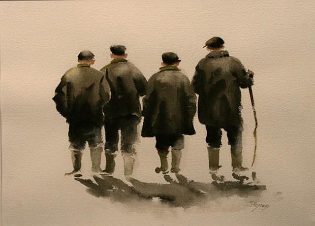Joe Hynes Good to be Alive, 2010 Watercolour 33 x