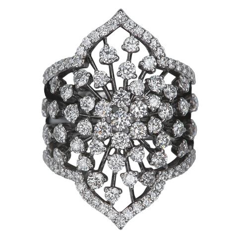 Stylized diamonds