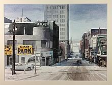 « USA street » Paul Irving (1967-)