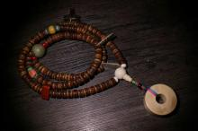A TIBET STYLE NECKLACE
