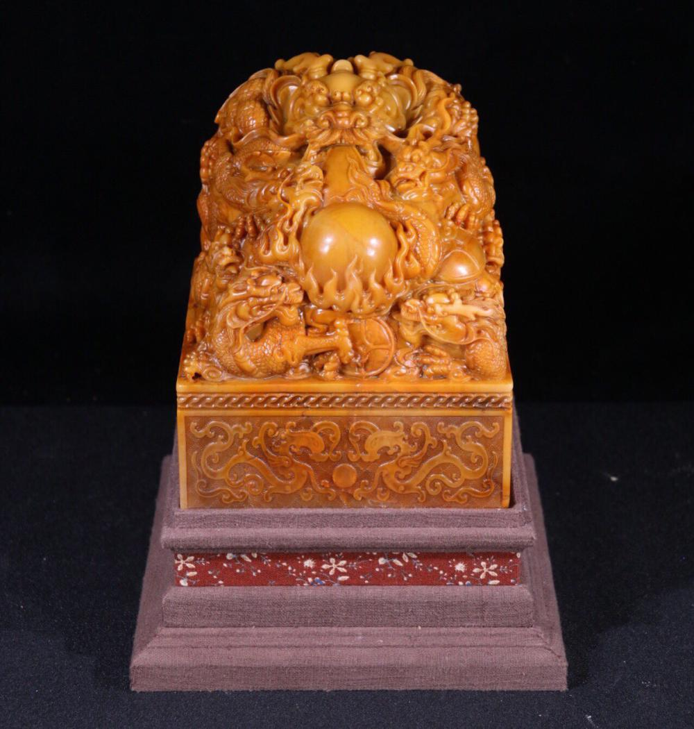 A TIANHUANG STONE SEAL OF BEAST