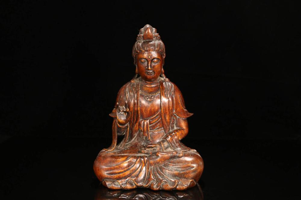 A CHENXIANG WOOD BUDDHA