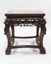 CRAVED SQUARE TABLE