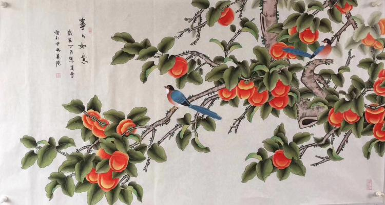 LING XUE FLOWER-AND-BIRD PAINTING