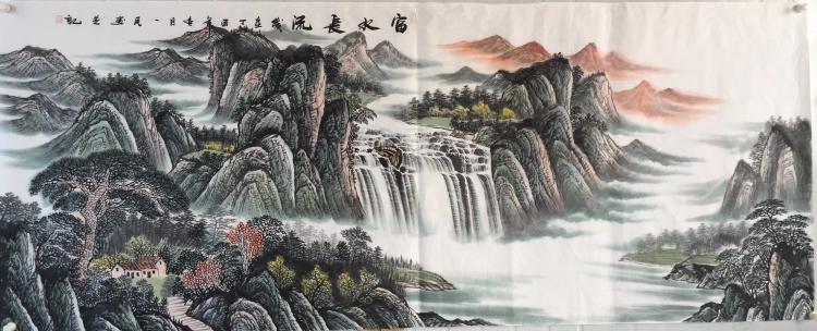 LIU YIMIN PAINTING FU SHUI CHANG LIU