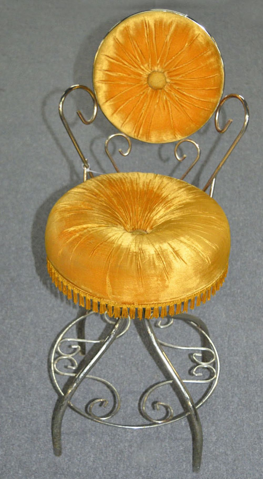 Sold Price Vintage French Vanity Chair May 2 0119 7 00 Pm Edt