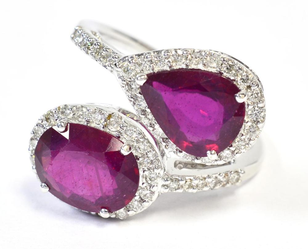 Rubies 4.10 carats
