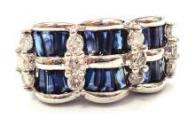 Lot 404: Sapphires 2.20 carats