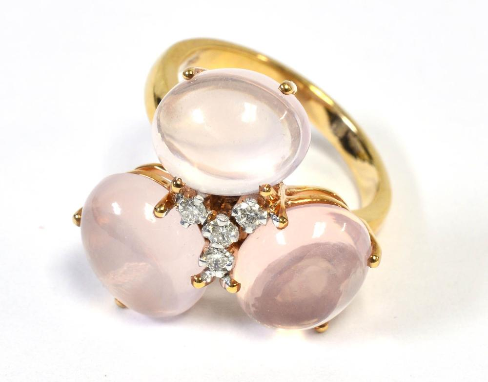 Rose quartz 10.00 carat
