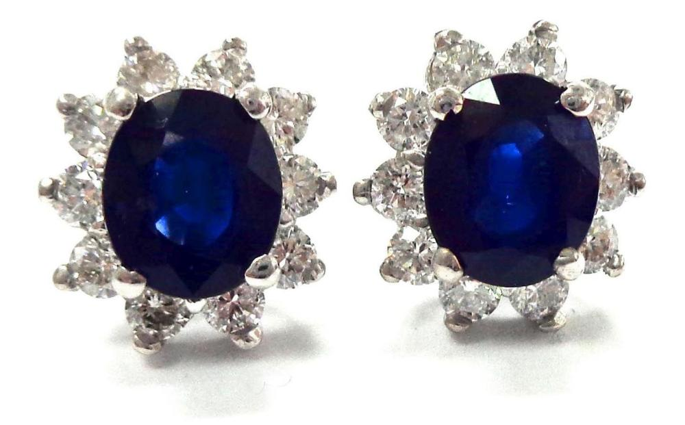 Sapphires 3.45 carats