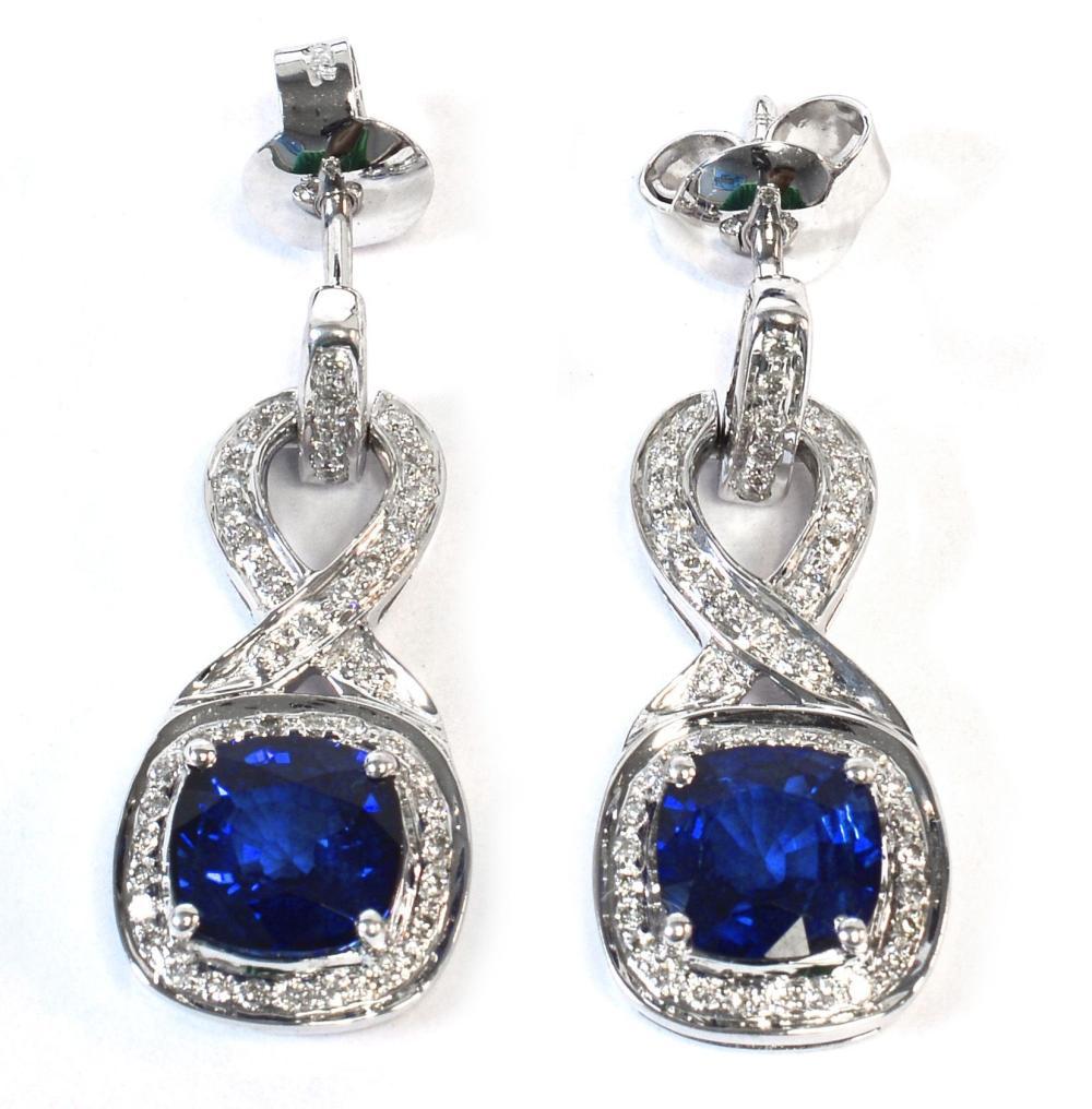 Blue sapphires 3.25 carats