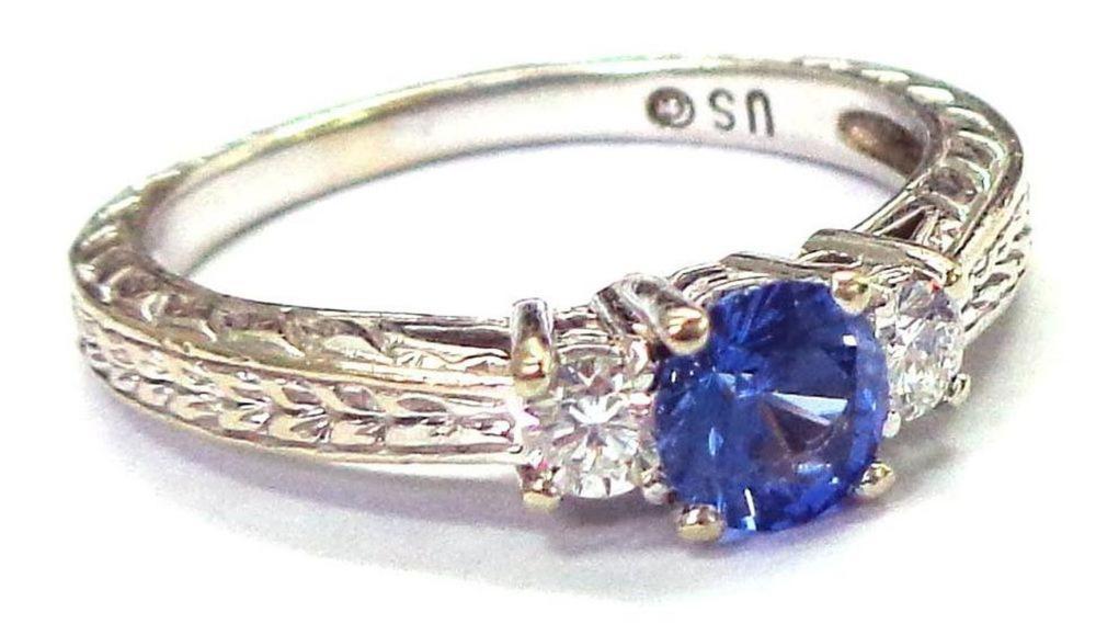 Sapphire 0.65 carat