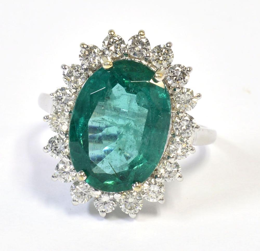Emerald 5.84 carat