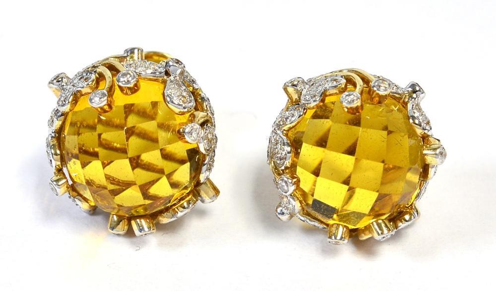 Citrines 15.06 carats