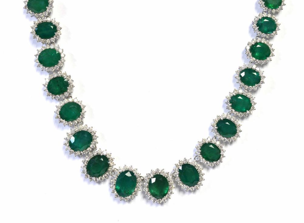 Emeralds 38.25 carats
