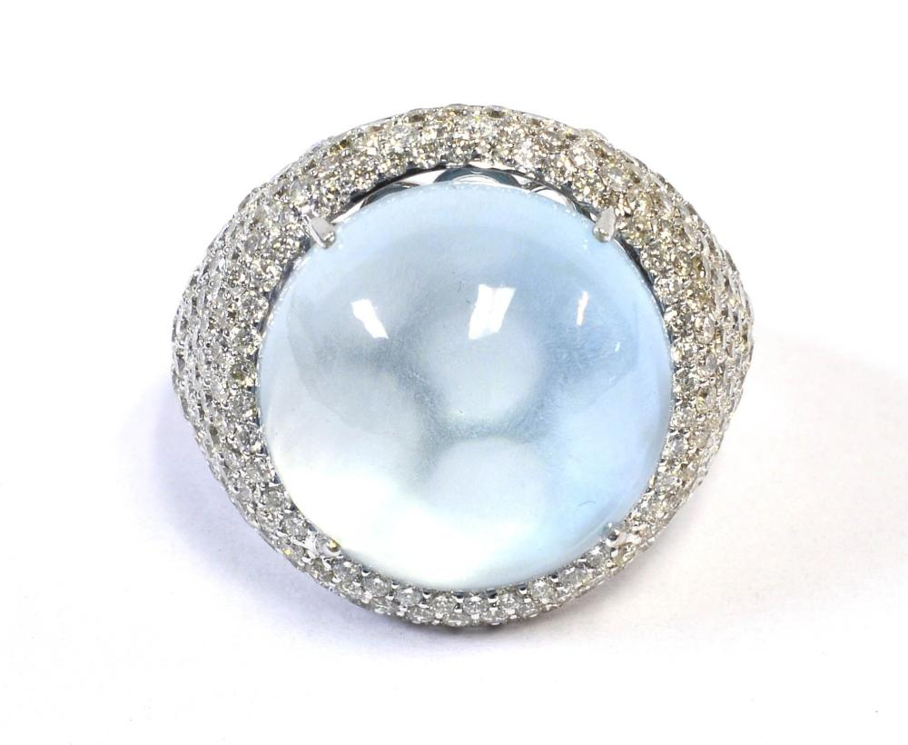 Sky blue topaz 16.12 carat