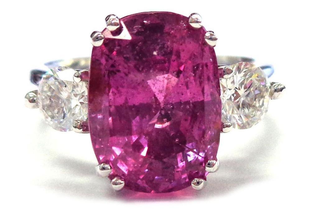 Pink sapphire 7.47 carat
