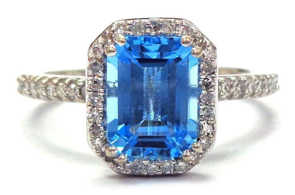 Blue topaz 1.70 carat