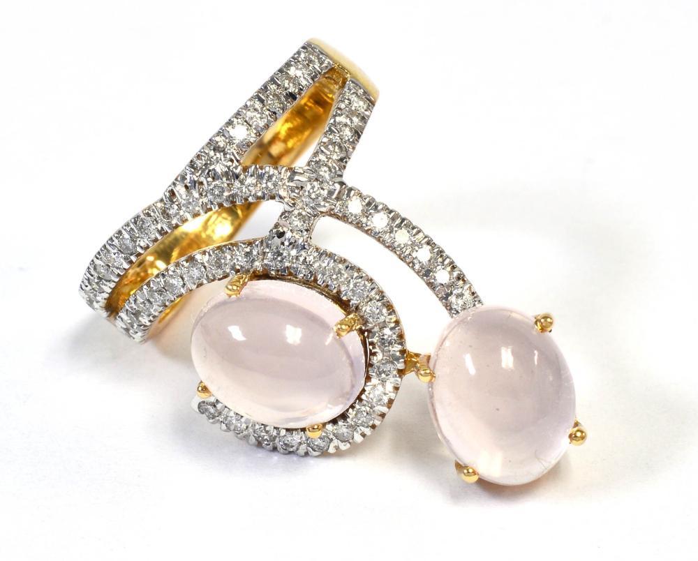 Rose quartz 5.70 carat