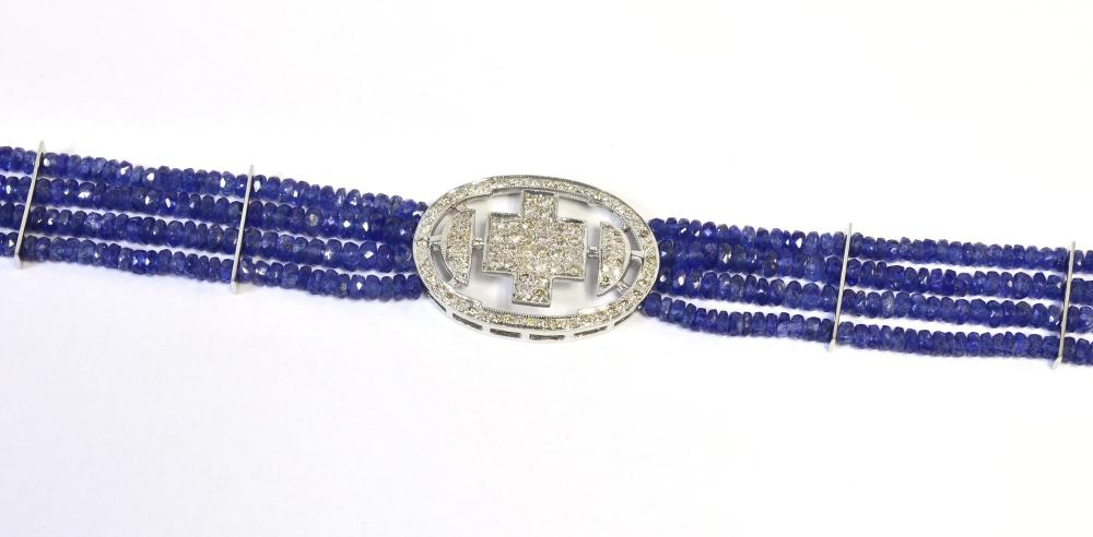 Sapphire beads 63.50 carats