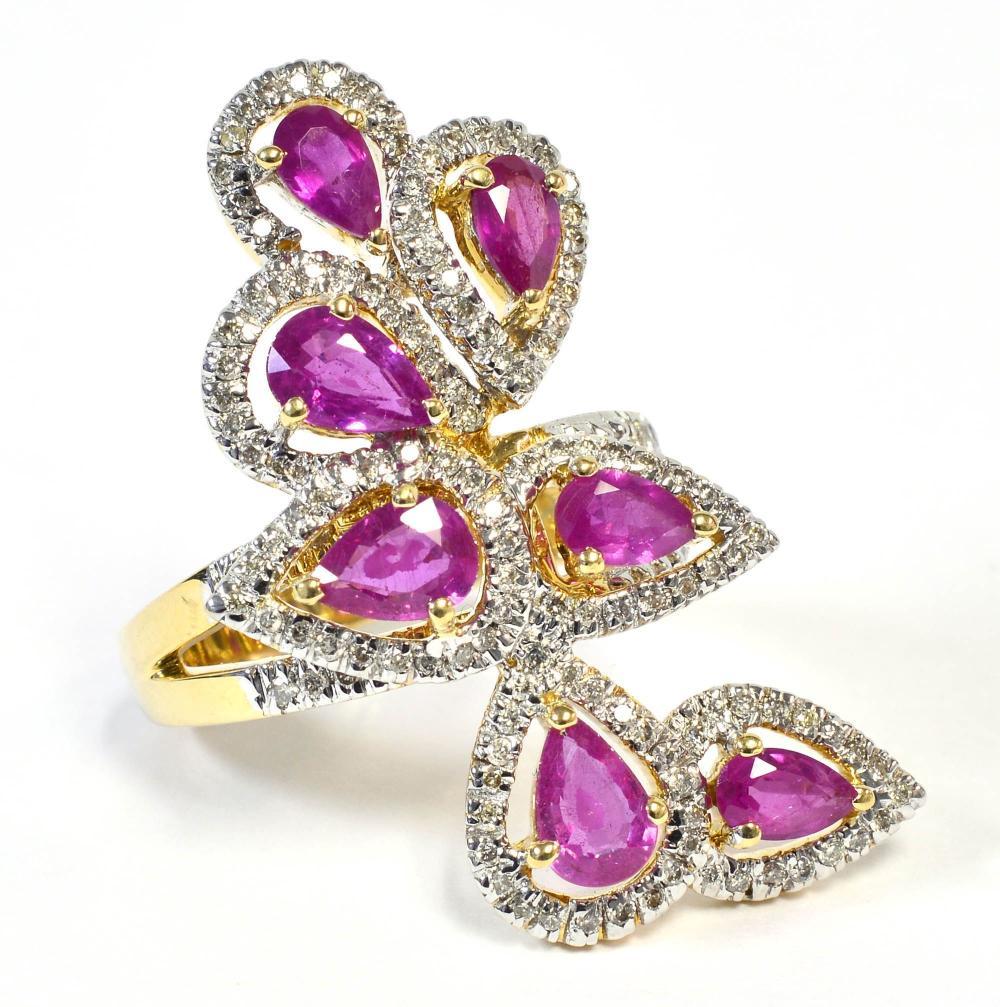 Rubies 2.60 carats