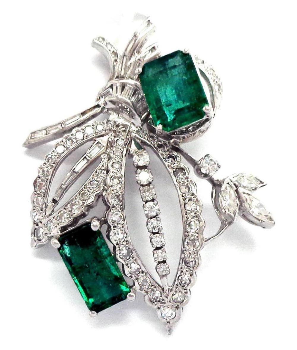 Emeralds 6.40 carats