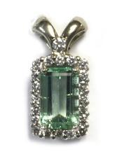 Lot 415: Emerald 2.25 carat