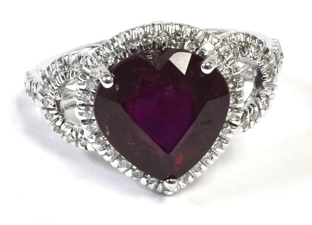 Lot 416A: Ruby 8.35 carat