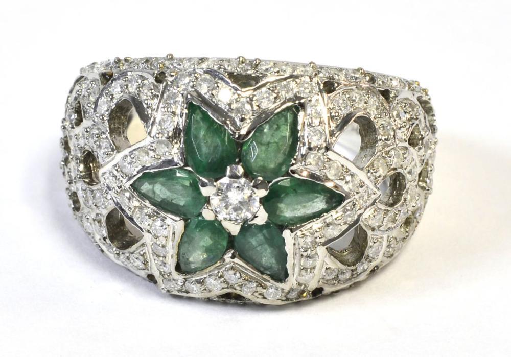 Emeralds 1.10 carats