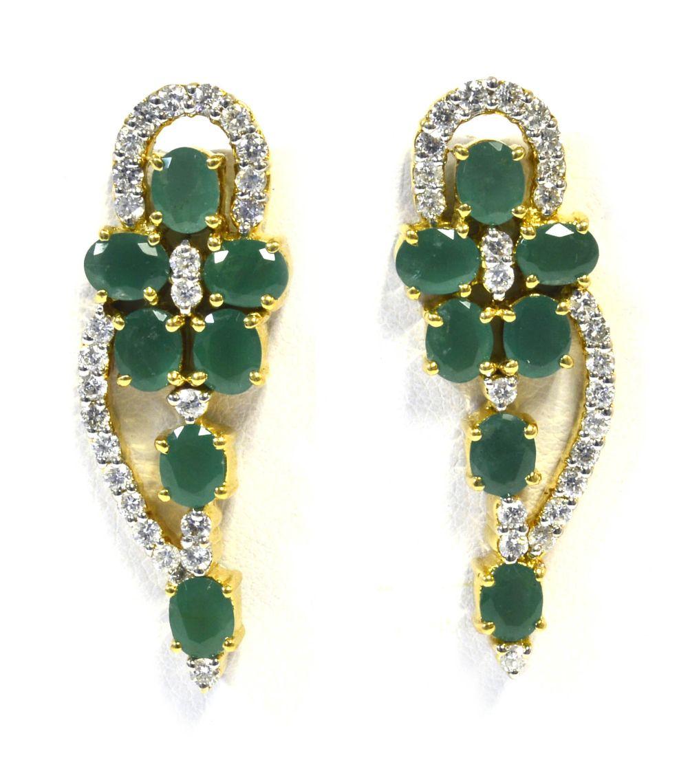 Emeralds 4.30 carats