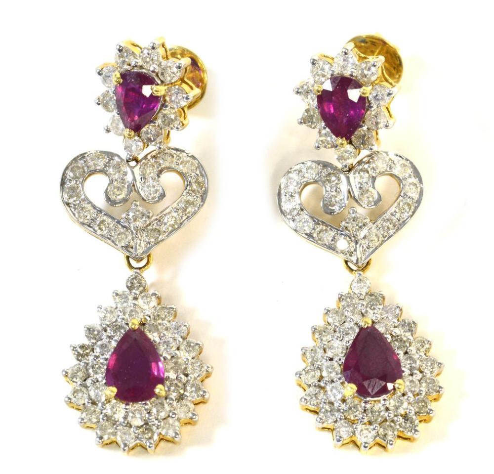 Rubies 3.85 carats