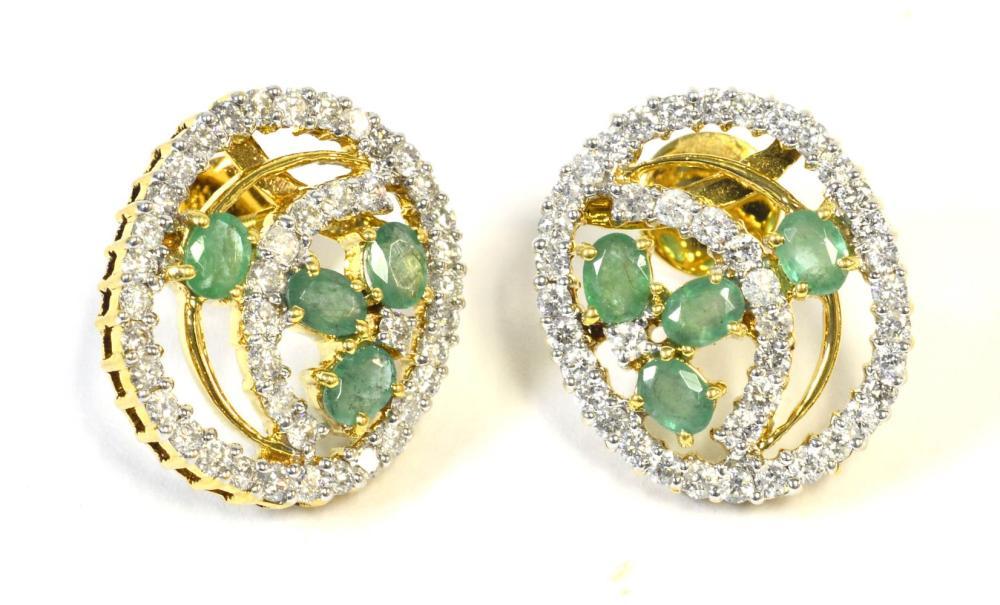 Emeralds 1.25 carats