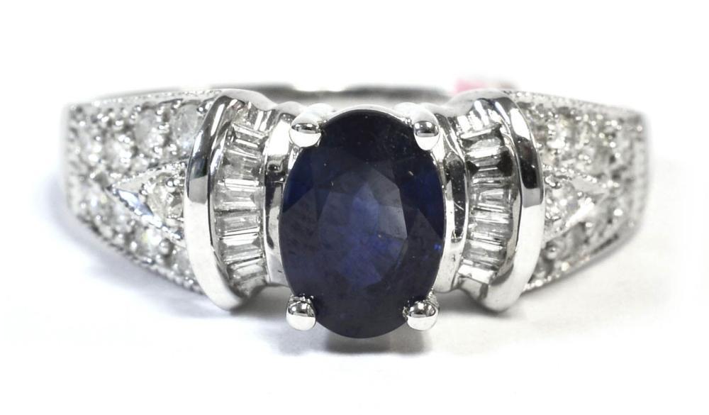 Sapphire 1.00 carat