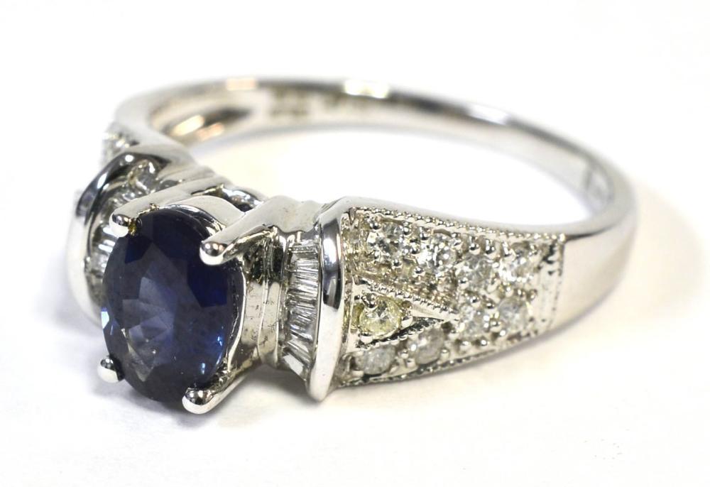 Lot 406A: Sapphire 1.00 carat
