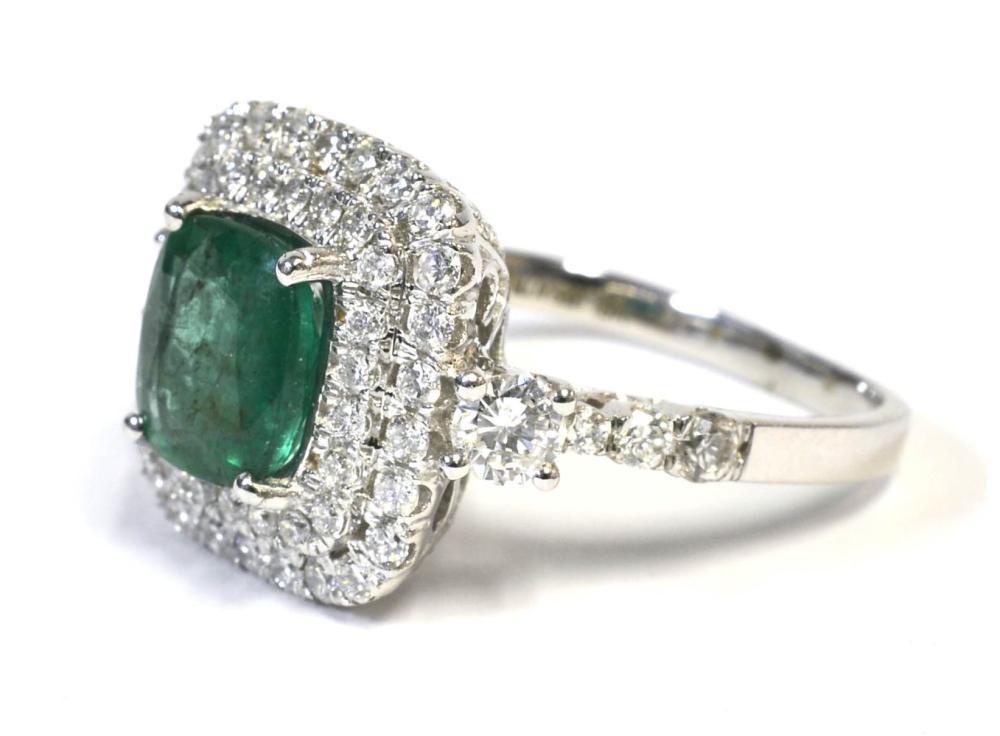 Lot 408A: Emerald 1.60 carat