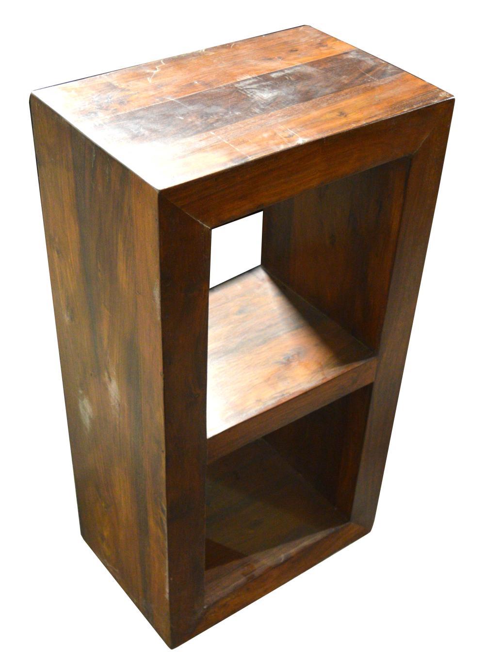 Small Contemporary Oak Bookcase