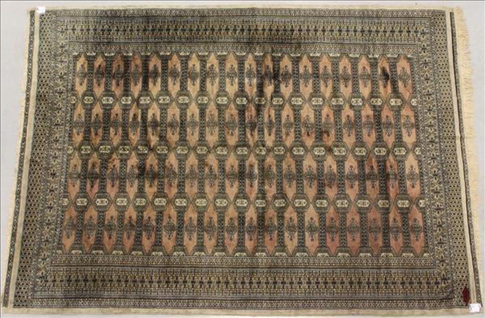 Oriental Bokhara rug