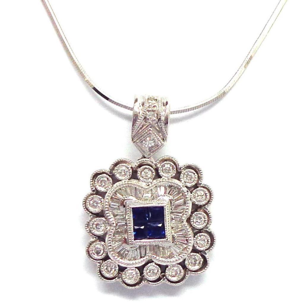 14 kt gold necklace/pendant