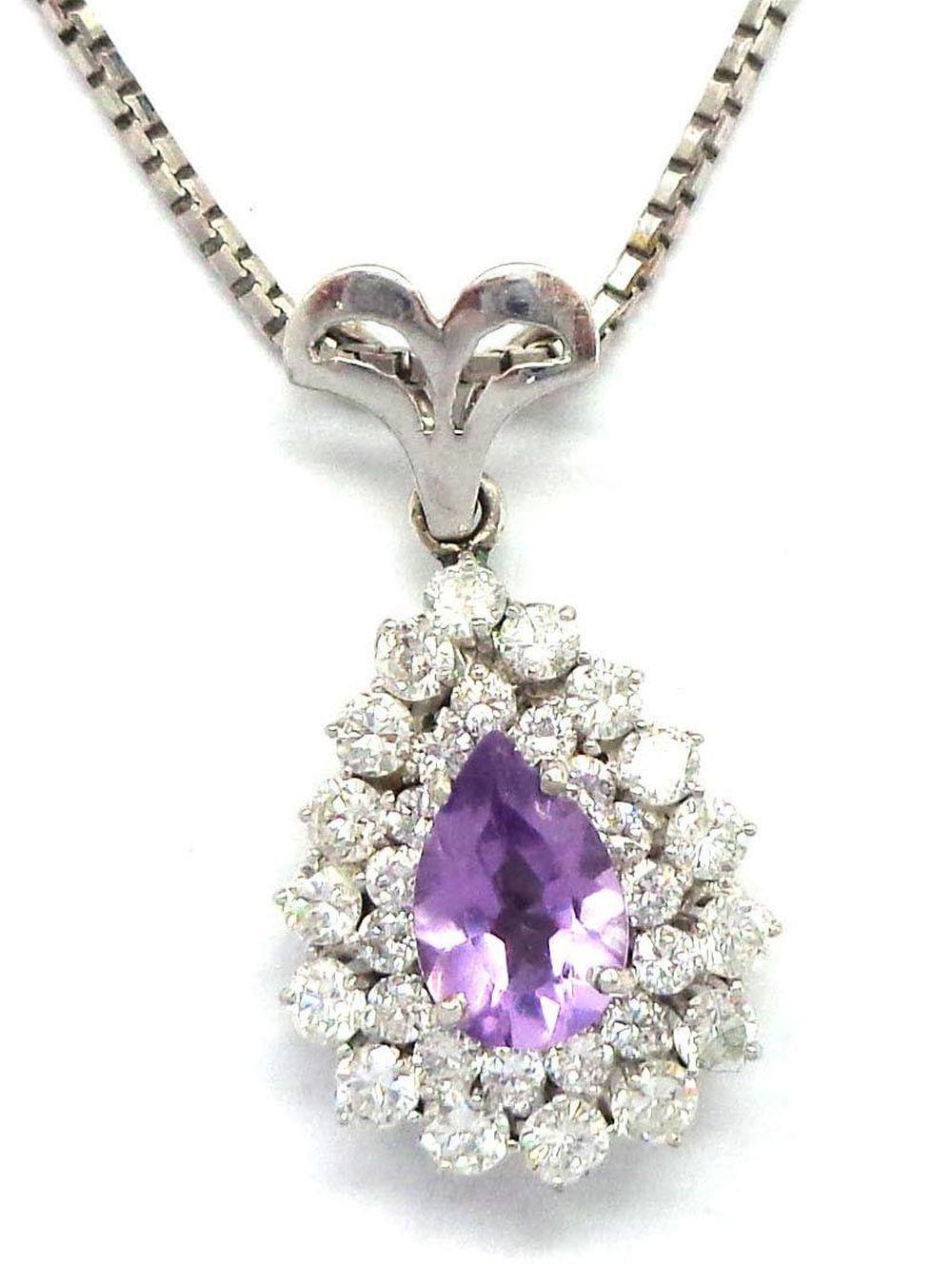 18 kt gold necklace/pendant