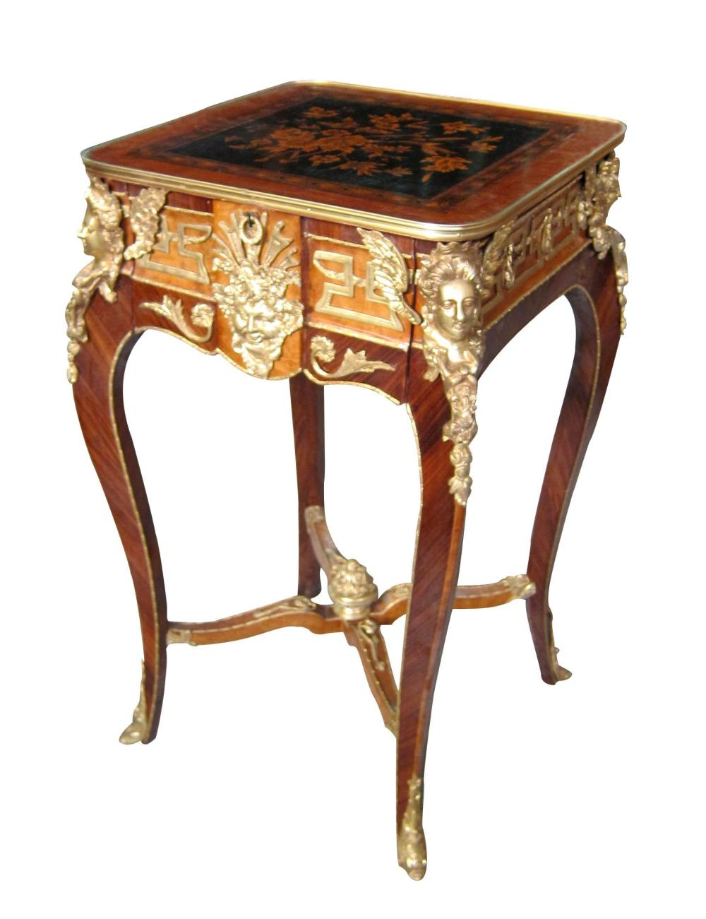 Louis XV-style side table