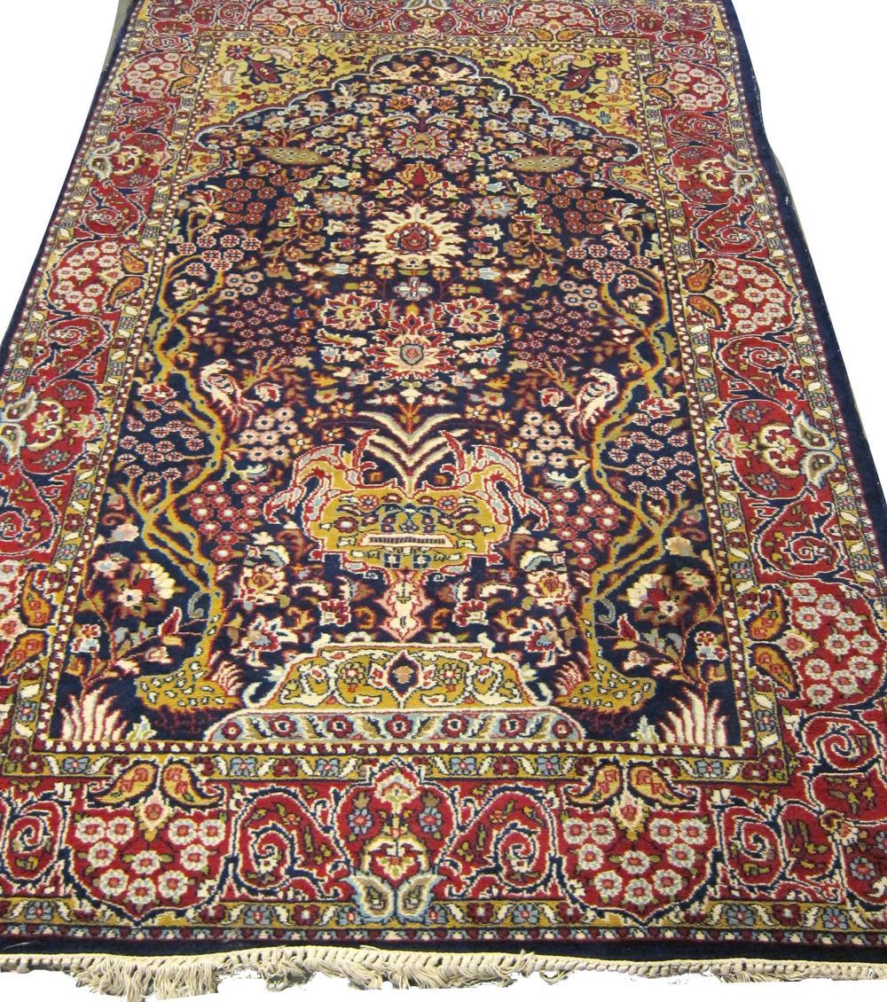 Oriental Qum-design rug