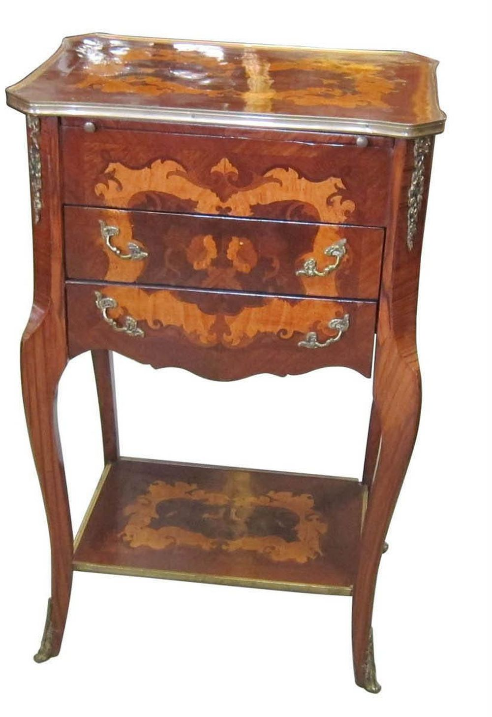 Vintage Italian 2-tier occasional table