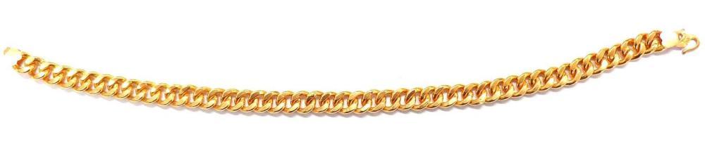 21 kt gold bracelet