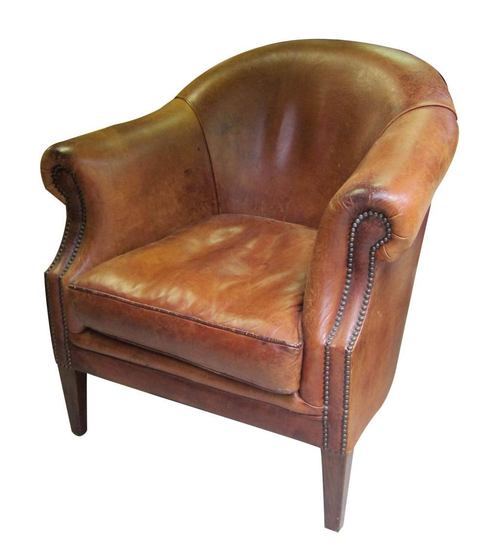 Art Deco-period tub chair